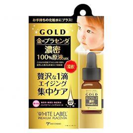 Serum vàng nhau thai trắng da trị nám White Label Premiun Placenta Gold Essence