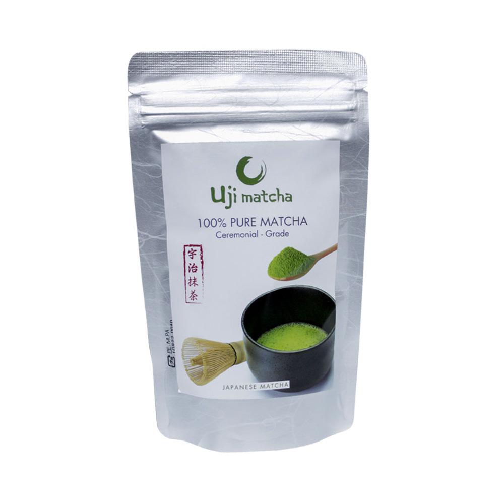 Bột trà xanh Uji matcha Ceremonial Nhật Bản 100g