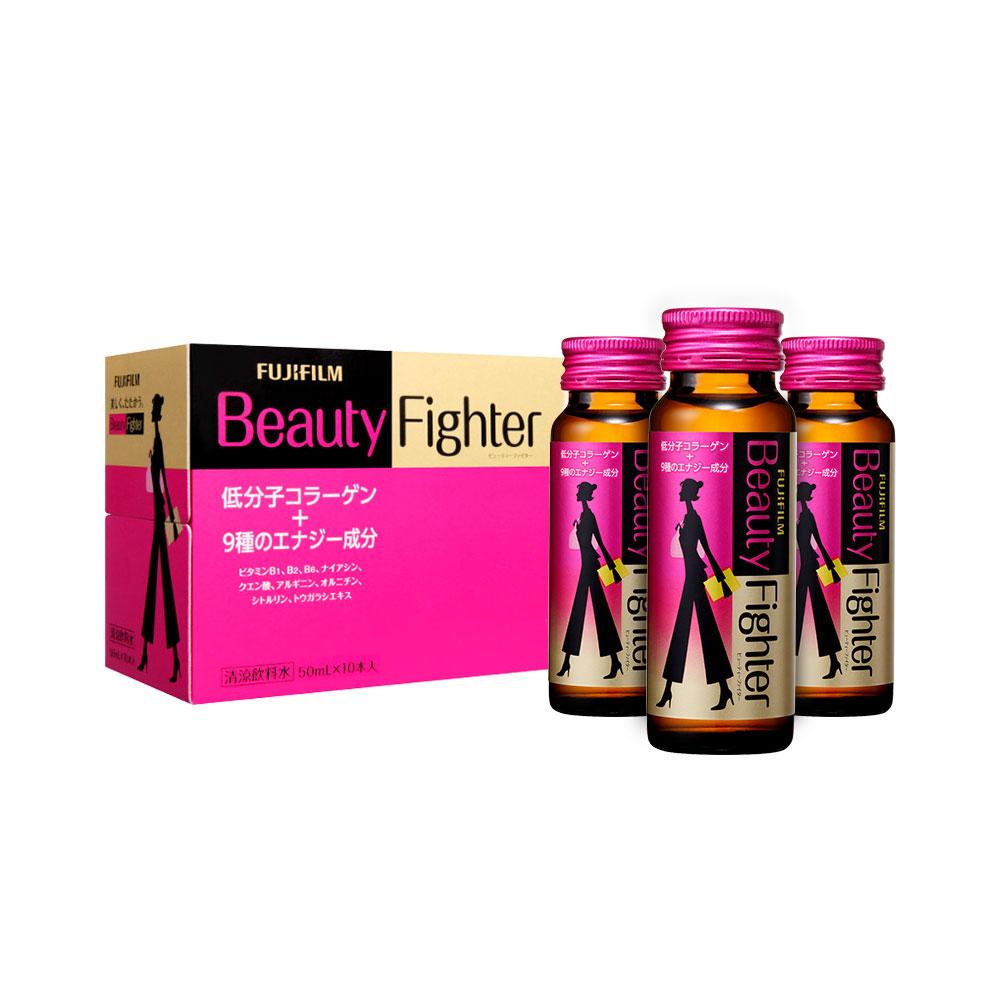 Nước uống Beauty Fighter Collagen Nhật Bản