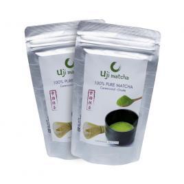 Combo 2 gói bột trà xanh Uji Matcha Ceremonial...