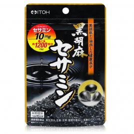 Viên uống mè đen Itoh Black Sesame Sesamin 60 viên (Nội địa)