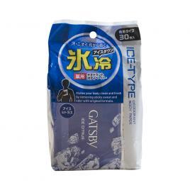 Giấy ướt khử mùi Gatsby Ice Nhật Bản 30...
