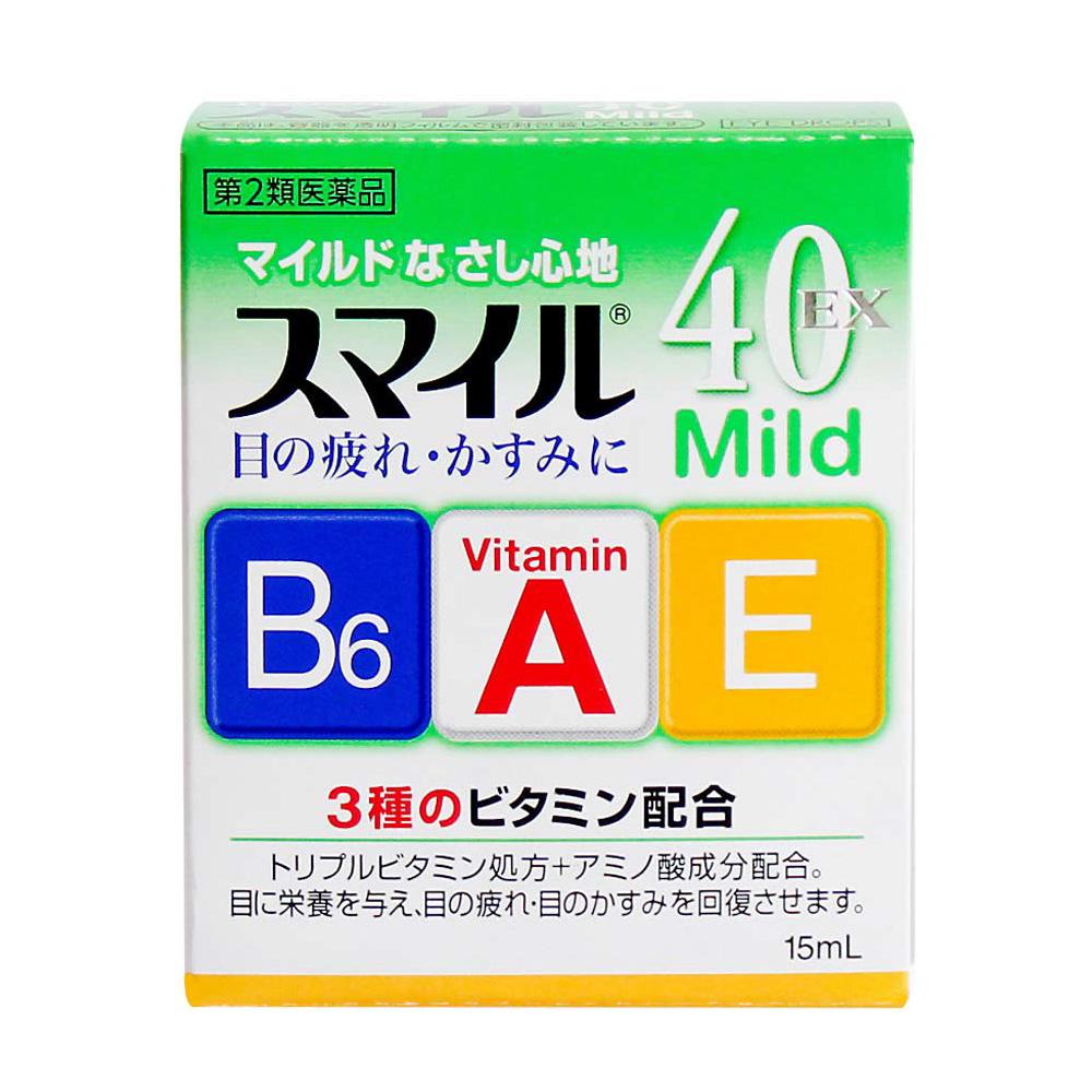 Nước nhỏ mắt Lion 40 Ex Mild Nhật Bản 15ml