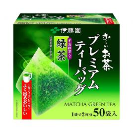 Trà xanh túi lọc cao cấp Itoen 50 gói