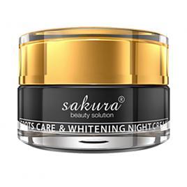 Kem dưỡng trắng da trị nám ban đêm Sakura Spot Care & Whitening Night Cream