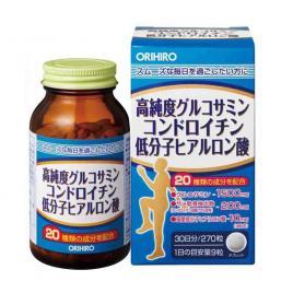 Viên uống bổ xương khớp Glucosamine Orihiro Hyaluronic Acid 270 viên