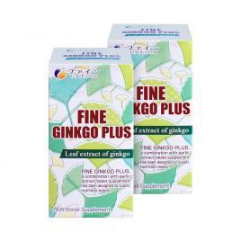 Combo 2 Hộp viên uống bổ não Fine Ginkgo Plus