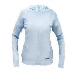 Áo chống nắng UPF50+ Galassin nữ màu xanh nhạt