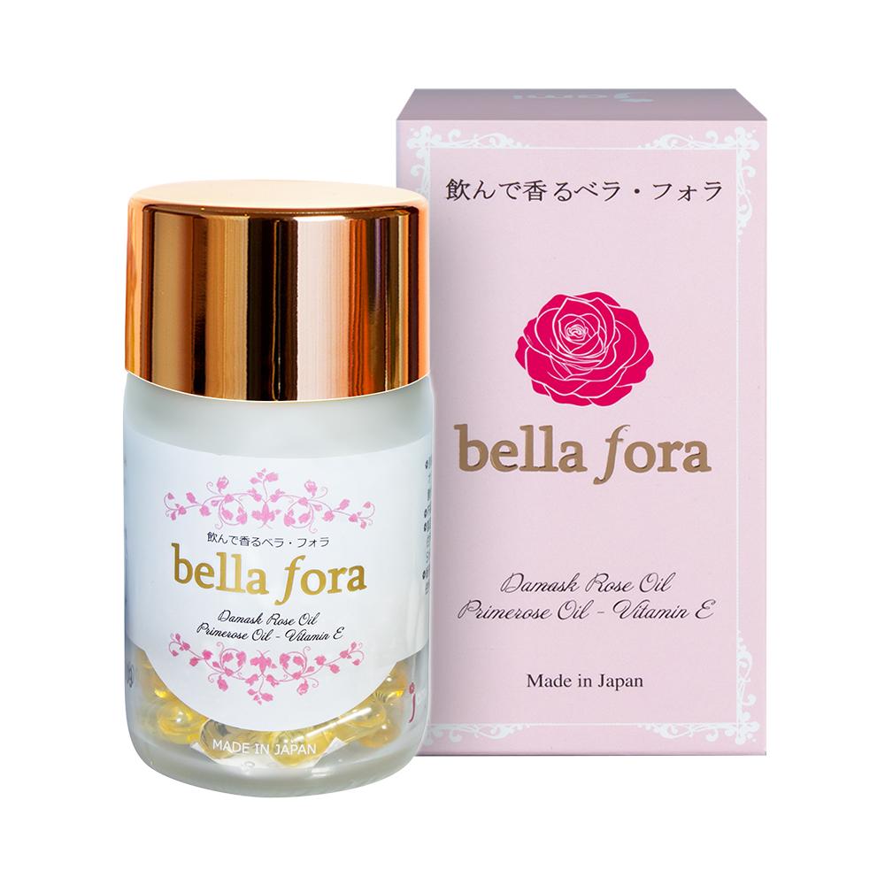 Viên uống tinh chất hoa hồng Bella Fora 35 viên