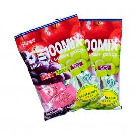 Combo 2 gói kẹo dẻo trái cây tổng hợp Kasugai (102g)
