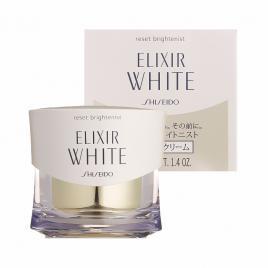 Kem dưỡng chống lão hoá ban đêm Shiseido Elixir White Reset Brightenist 40g