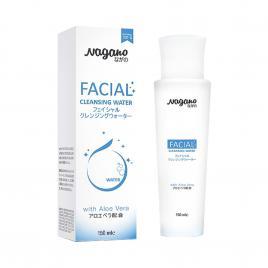 Nước tẩy trang collagen và nha đam Nagano Facial Cleansing Water 150ml