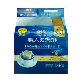 Cà phê đen hoà tan UCC (Hộp 18 gói x 7g)