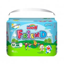 Bỉm - Tã quần Goo.N New Friend size M 27 miếng (Cho bé 7 - 12kg)