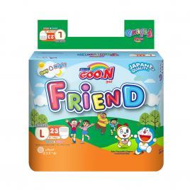 Bỉm - Tã quần Goo.N New Friend size L 23 miếng (Cho bé 9 - 14kg)