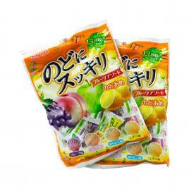 Combo 2 gói kẹo trái cây Kasugai (118g)