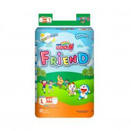 Bỉm - Tã quần Goo.N New Friend size L 48 miếng (Cho bé 9 - 14kg)