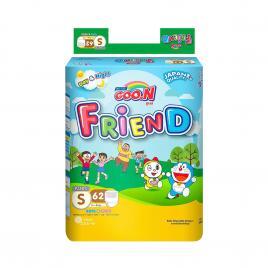 Bỉm - Tã quần Goo.N New Friend size S 62 miếng (Cho bé 4 - 8kg)