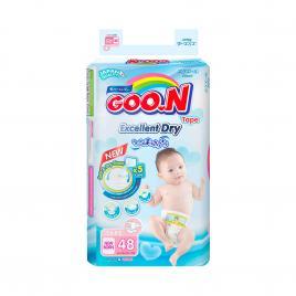 Bỉm - Tã dán Goo.N Renew Slim size NB 48 miếng (Cho bé ~ 5kg)