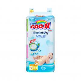 Bỉm - Tã dán Goo.N Renew Slim size S 44 miếng (Cho bé 4 - 8kg)