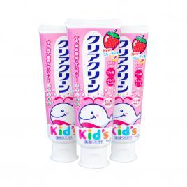 Combo 3 kem đánh răng dành cho bé Kao vị dâu 70g