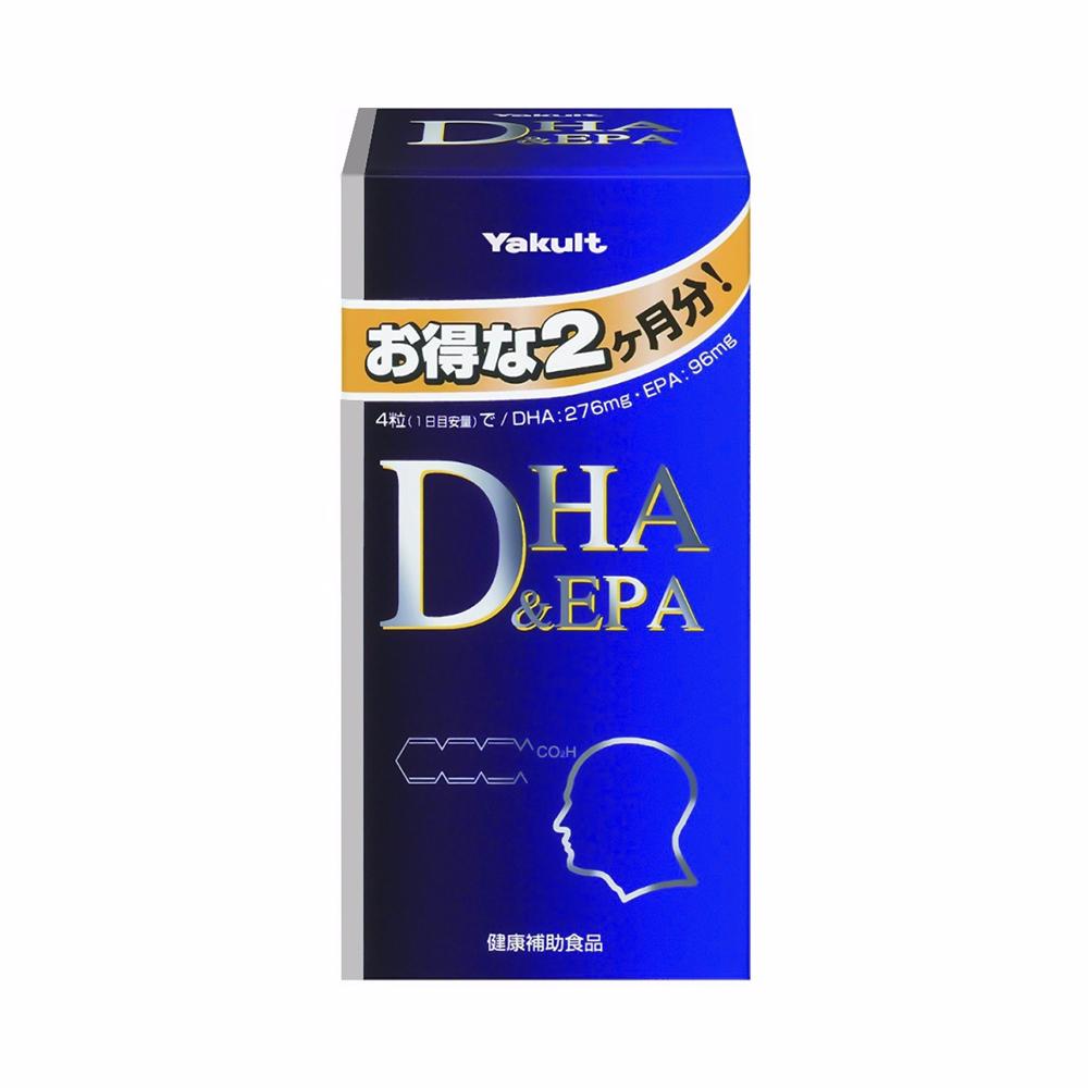 Viên uống bổ não DHA & EPA Yakult Currently 240 viên