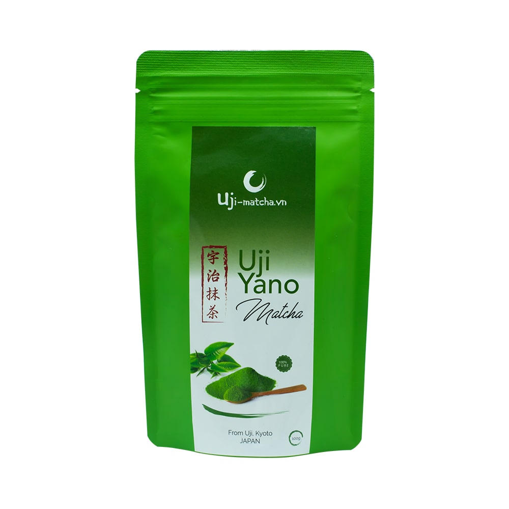 Bột trà xanh Uji Matcha Yano Nhật Bản 100g