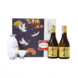 Hộp quà tết rượu sake Tamanohikari Junmai Daiginjo Shuho 300ml