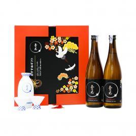 Hộp quà tết rượu sake Tamanohikari Junmai Ginjo Karakuchi 720ml