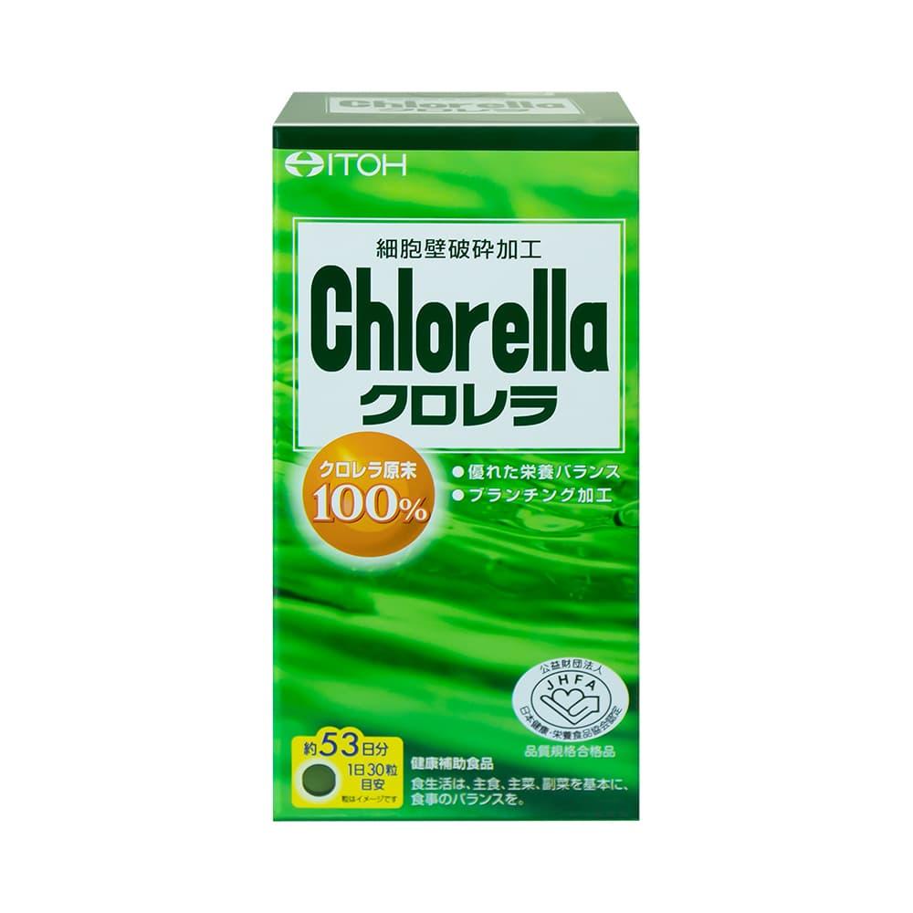 Tảo diệp lục Itoh Chlorella Nhật Bản 1600 viên