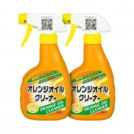Combo 2 chai dung dịch tẩy dầu mỡ hương cam Yuwa Orange Oil Cleaner 400ml