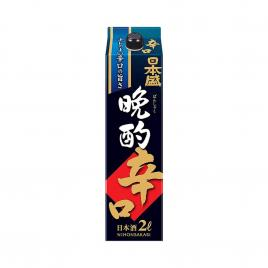 Rượu Sake Nihonsakari Bansaku Karakuchi 2000ml