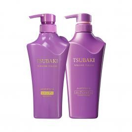 Bộ dầu gội và dầu xả ngăn rụng tóc Shiseido Tsubaki Volume Touch 500ml