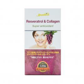 Viên uống Resveratrol & Collagen 120 viên