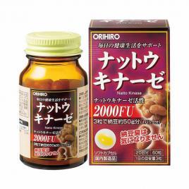 Viên uống hỗ trợ điều trị tai biến Orihiro Nattokinase 2000FU 60 viên