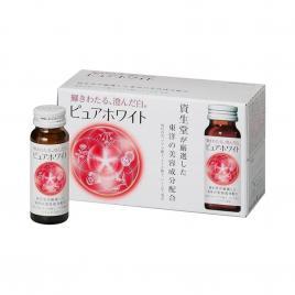Nước uống làm trắng da Shiseido Pure White (Hộp 10 chai x 50ml)