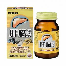Viên uống bổ gan Orihiro Nhật Bản 60 viên