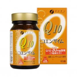Viên uống đẹp da Coenzyme Q10 Fine Japan 60 viên