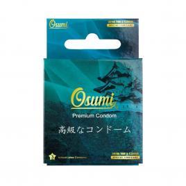 Bao cao su Osumi Ultrathin and Flavour 3 cái (Màu xanh)