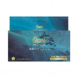 Bao cao su Osumi Ultrathin and Flavour 12 cái (Màu xanh)