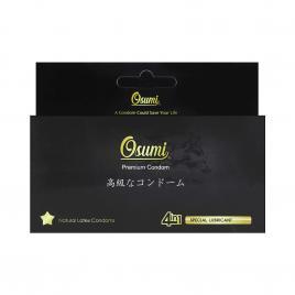 Bao cao su 4in1 Osumi Mix Anatomic 12 cái (Màu đen)