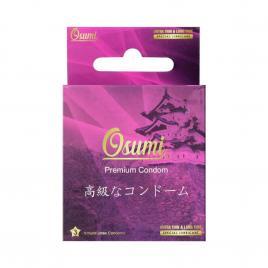 Bao cao su Osumi Ultrathin and Long Time 3 cái (Màu hồng)