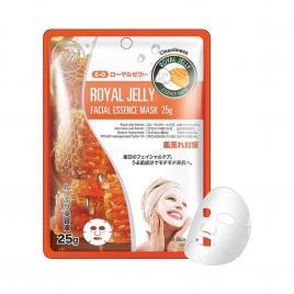 Mặt nạ sữa ong chúa Mitomo Natural Royal Jelly Cleanliness (1 miếng)