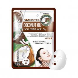 Mặt nạ dầu dừa Mitomo Natural Coconut Oil Elasticity (1 miếng)