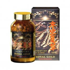 Đông trùng hạ thảo Tohchukasou Royal Gold cao cấp 420 viên