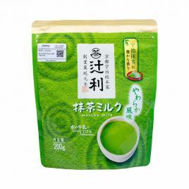 Bột trà xanh Tsujiri Matcha Milk Nhật Bản 200g