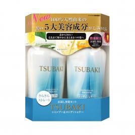 Bộ dầu gội và dầu xả Shiseido Tsubaki Nhật Bản màu xanh 315ml