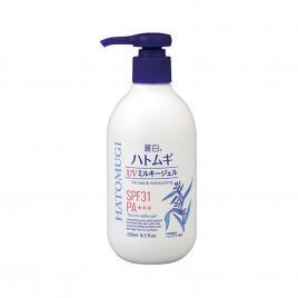 Sữa dưỡng thể chống nắng Hatomugi UV Milky Gel Kumano 250ml