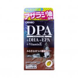 Viên uống bổ não DPA+DHA+EPA+Vitamin E Orihiro 120 viên
