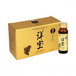 Nước uống hỗ trợ điều trị ung thư Yoho Mekabu Fucoidan (Hộp 10 chai x 50ml)